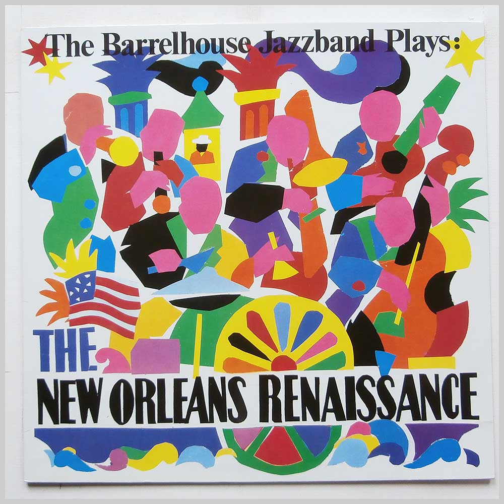 Barrelhouse Jazzband - Barrelhouse Jazzband Plays: The New Orleans Renaissance (LR 40.022)