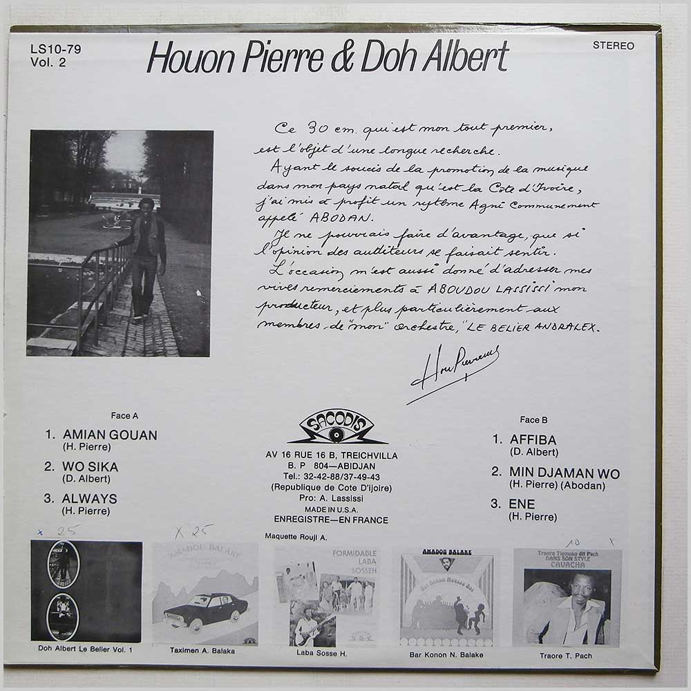 Doh Albert, Houon Pierre - Du Belier Vol 2 (LS10-79)