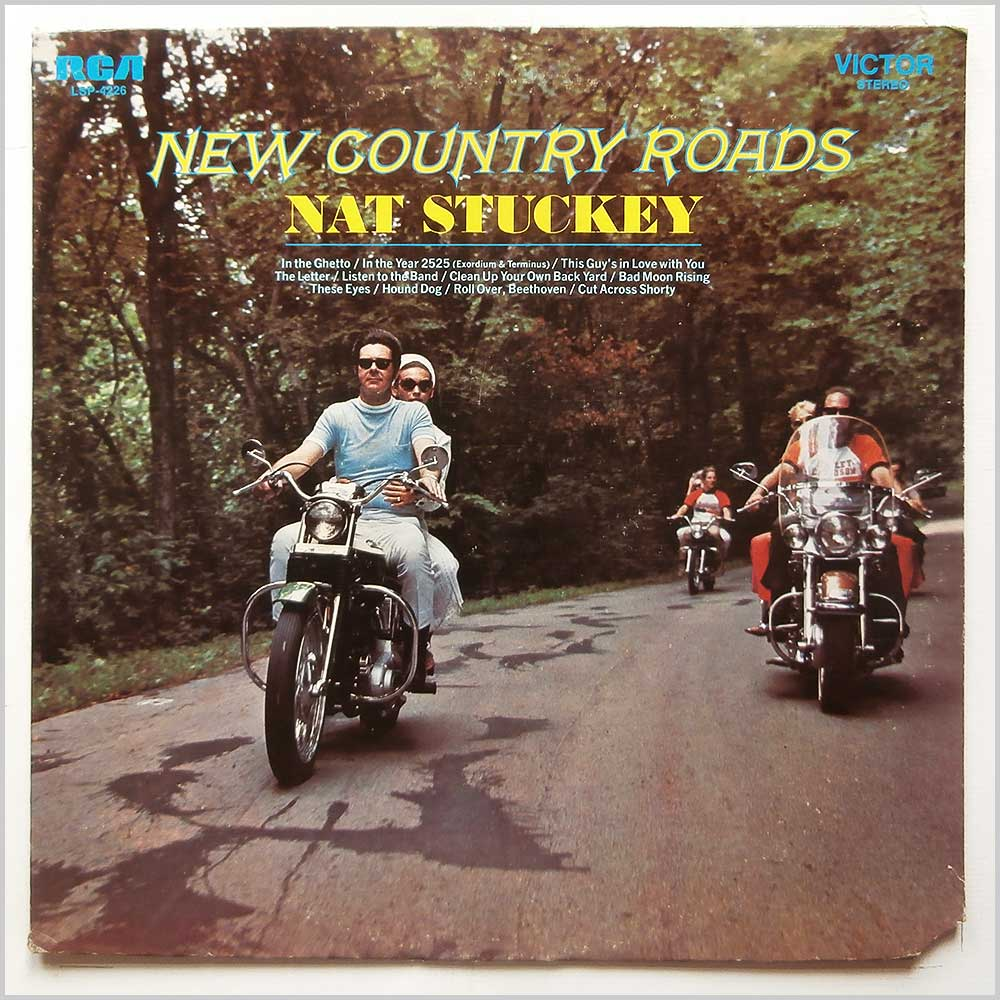Nat Stuckey - New Country Roads (LSP-4226)