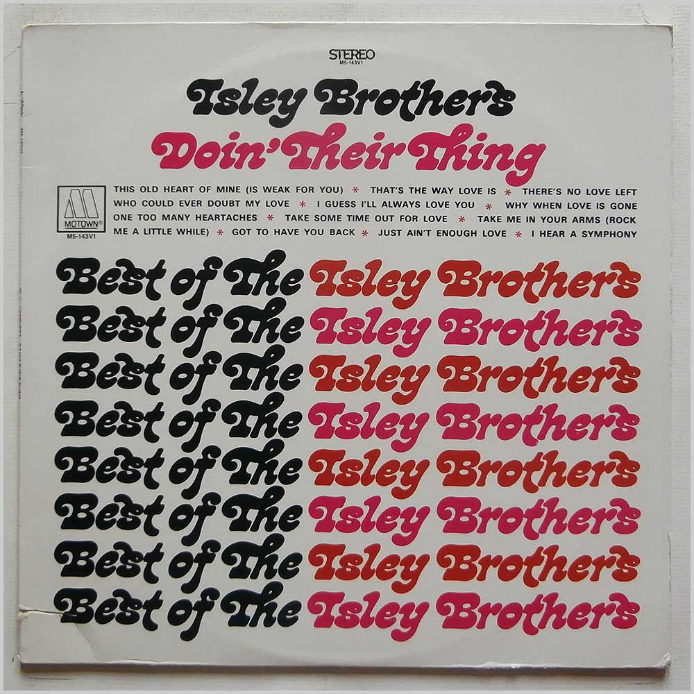 Isley Brothers - Doin' Their Thing (M5-143V1)