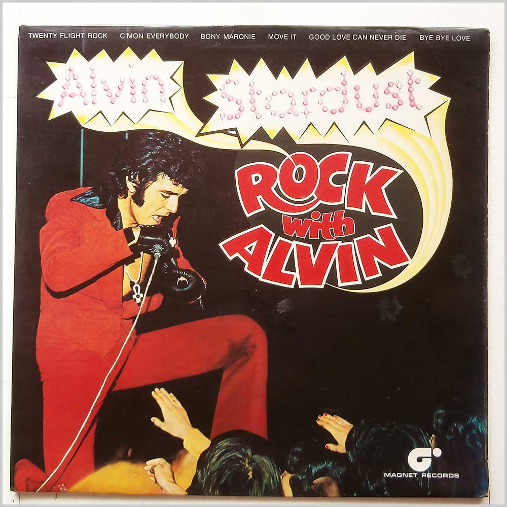 Alvin Stardust - Rock With Alvin (MAG 5007)