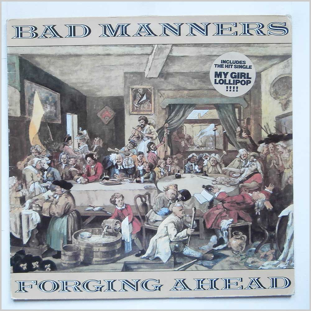 Bad Manners - Forging Ahead (MAGL 5050)