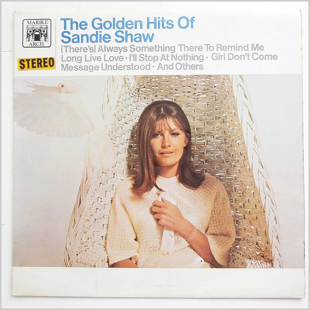 Sandie Shaw - The Golden Hits Of Sandie Shaw (MAL 781)