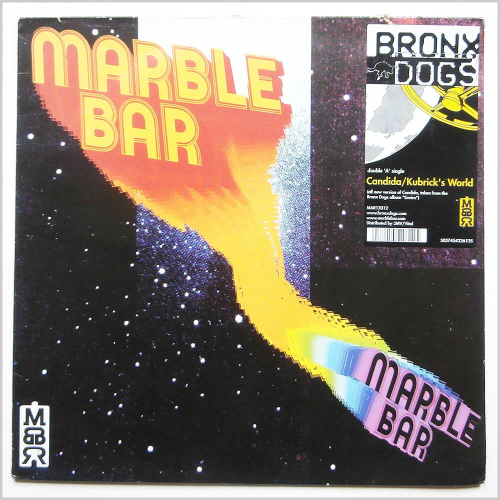 Marble Bar - Candida, Kubrick's World (MAR 12012)