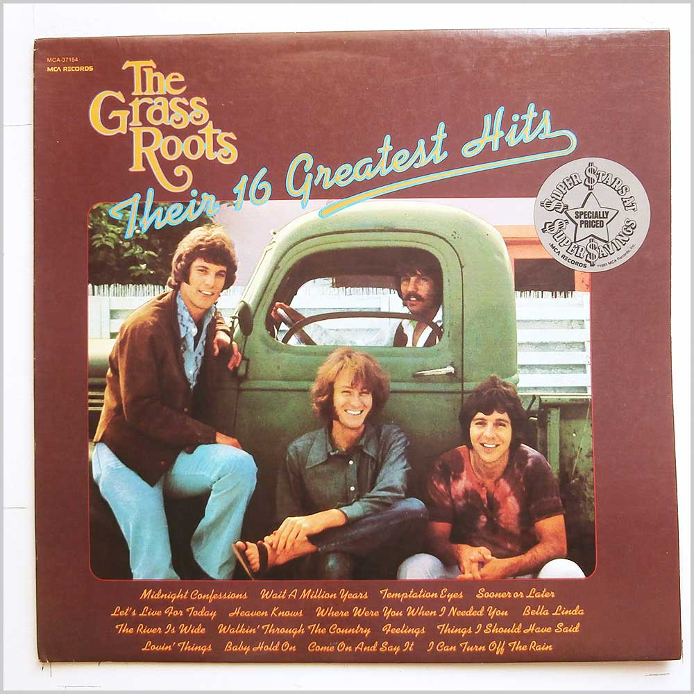 The Grass Roots - Their 16 Greatest Hits (MCA-37154)