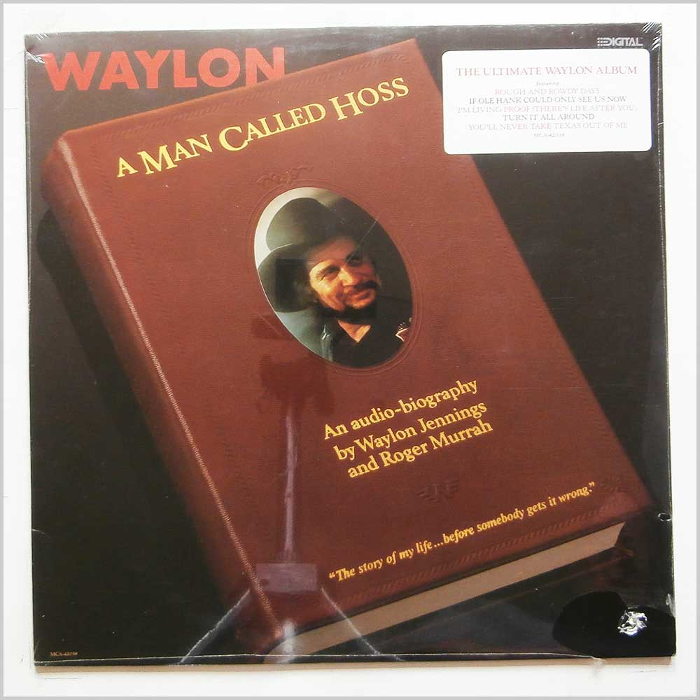 Waylon Jennings - A Man Called Hoss (MCA-42038)