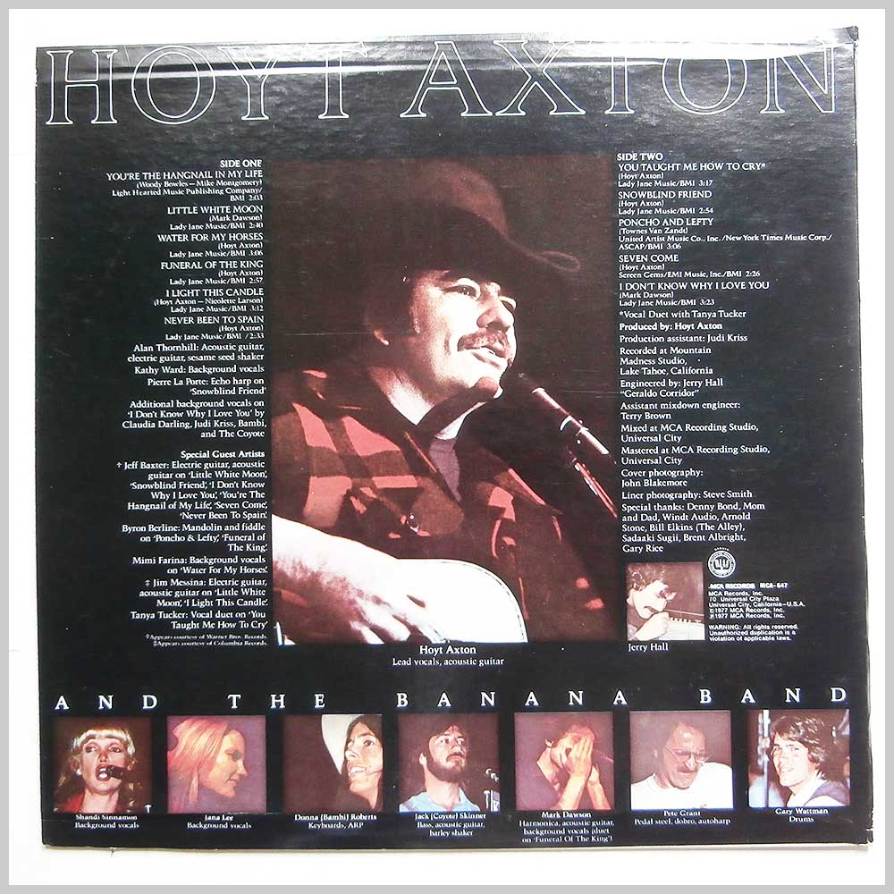 Hoyt Axton - Snowblind Friend (MCA-647)