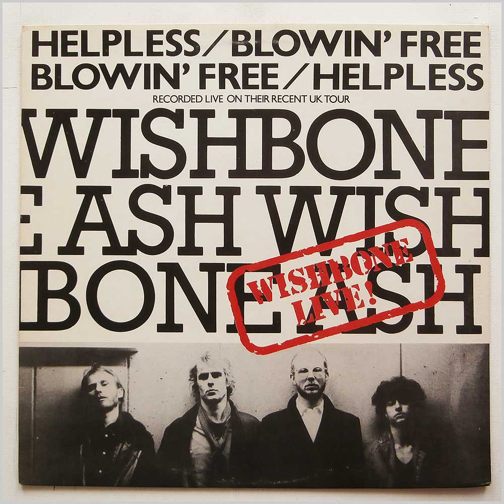 Wishbone Ash - Helpless/Blowin' Free (MCAT 577)