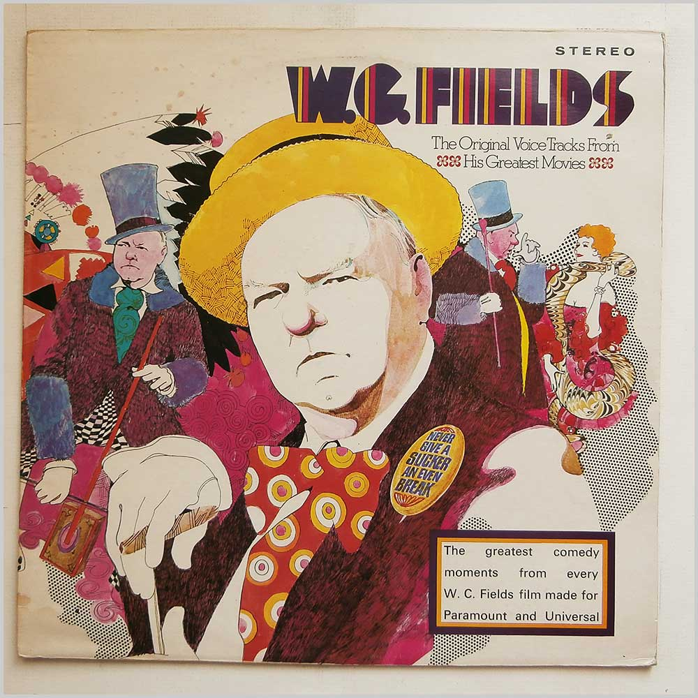 W.C. Fields - The Original Voice Tracks From His Greatest Records (MCF 2554)