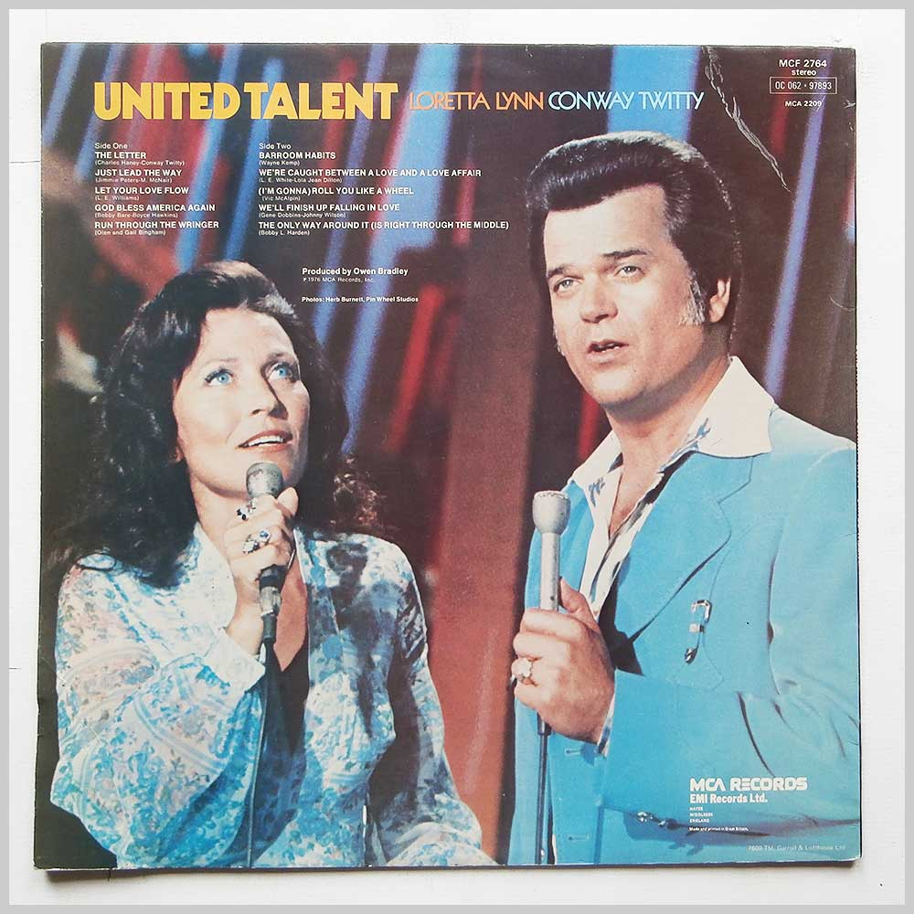 Loretta Lynn, Conway Twitty - United Talent (MCF 2764)