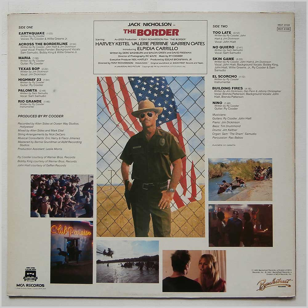Ry Cooder - The Border (MCF 3133)
