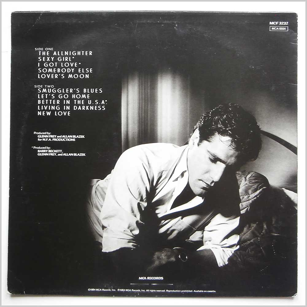 Glenn Frey - The Allnighter (MCF 3232)