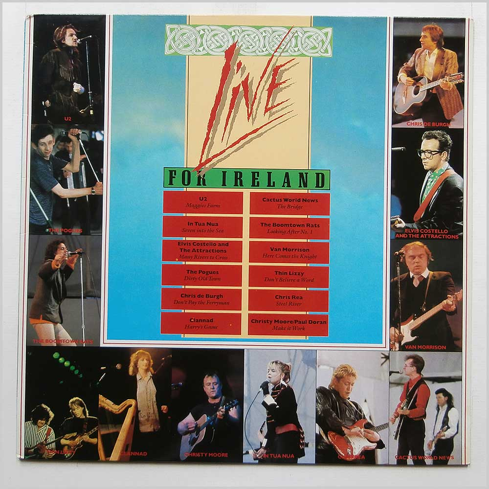 Various - Live For Ireland (MCG 6027)