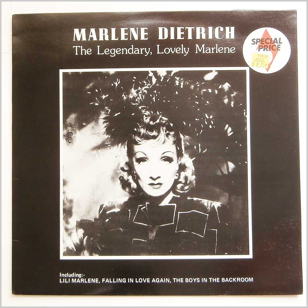 Marlene Dietrich - The Legendary, Lovely Marlene (MCL 1685)