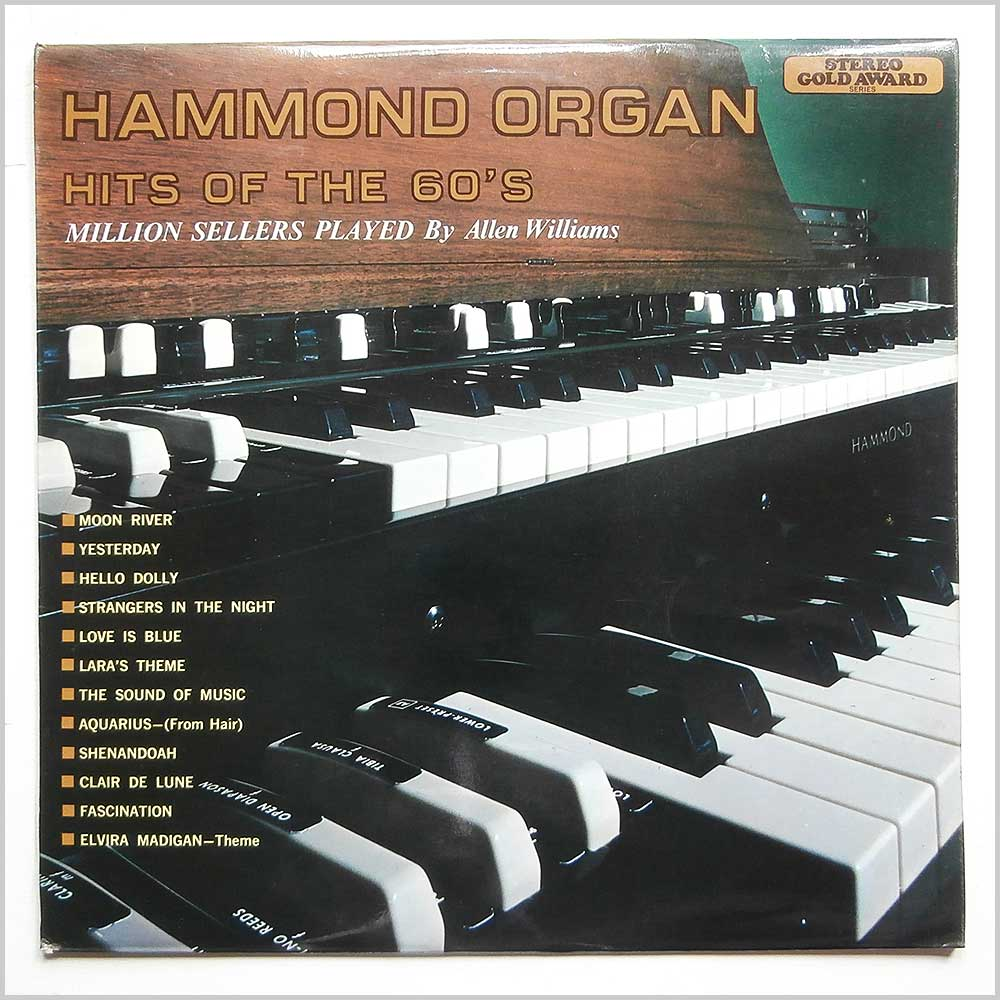 Allen Williams - Hammond Organ Hits of the 60s (MER 322)