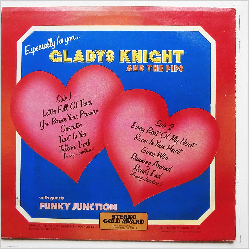Gladys Night and The Pips - Gladys Night And The Pips With Guests Funky Junction (MER 394)