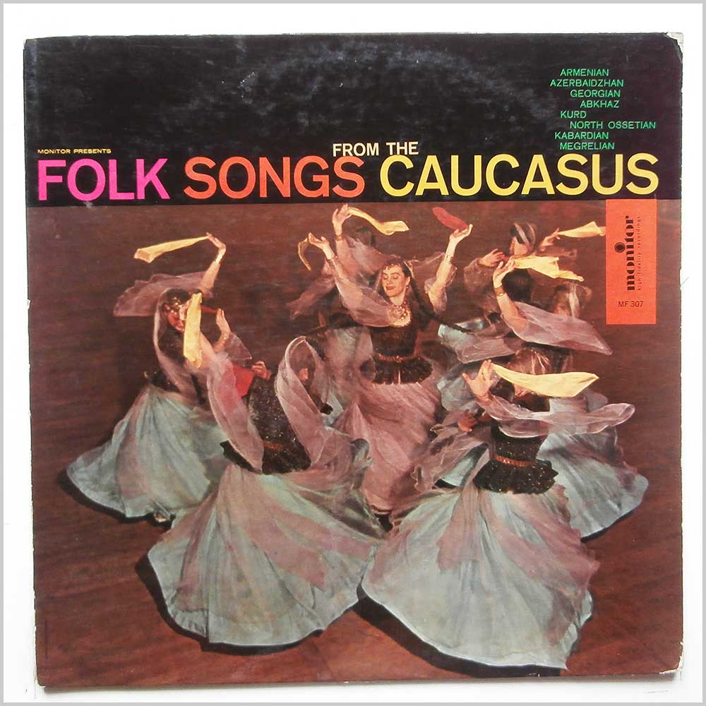 Various - Folk Songs From The Caucasus (MF 307)