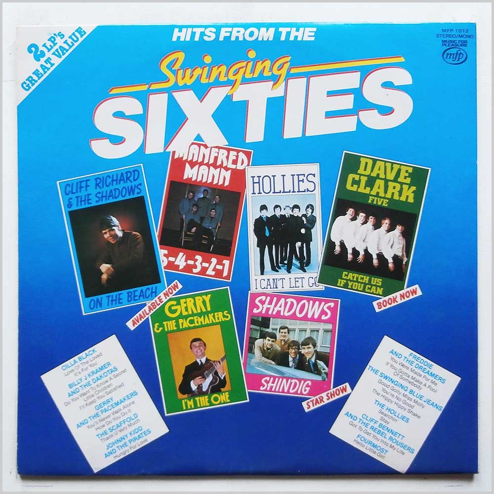 Various - Hits From The Swinging Sixties (MFP 1012)
