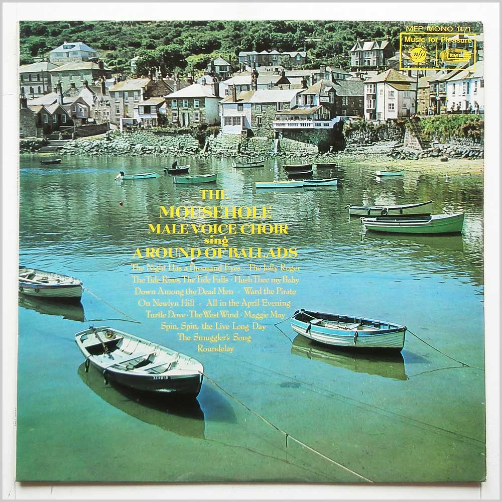The Mousehole Male Voice Choir - A Round Of Ballads (MFP 1171)