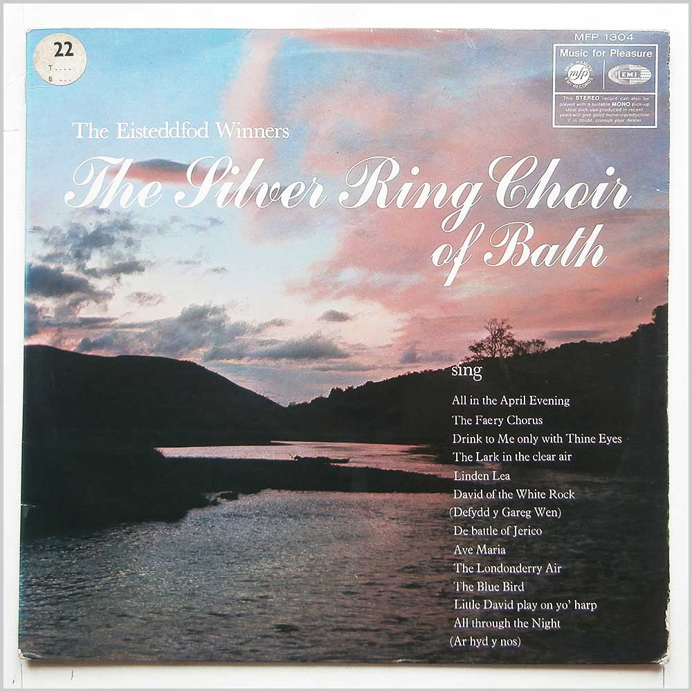 The Silver Ring Choir Of Bath - The Eisteddfod Winners (MFP 1304)