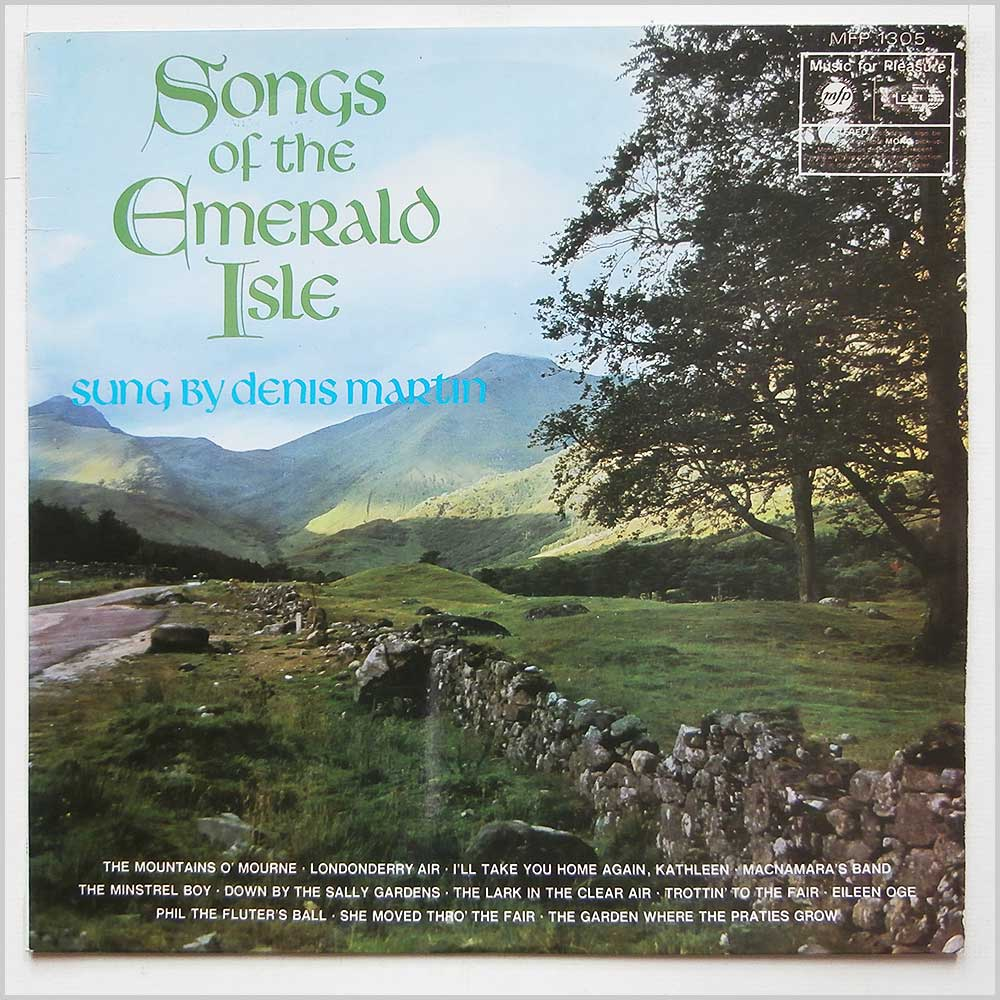 Denis Martin - Songs Of The Emerald Isle (MFP 1305)