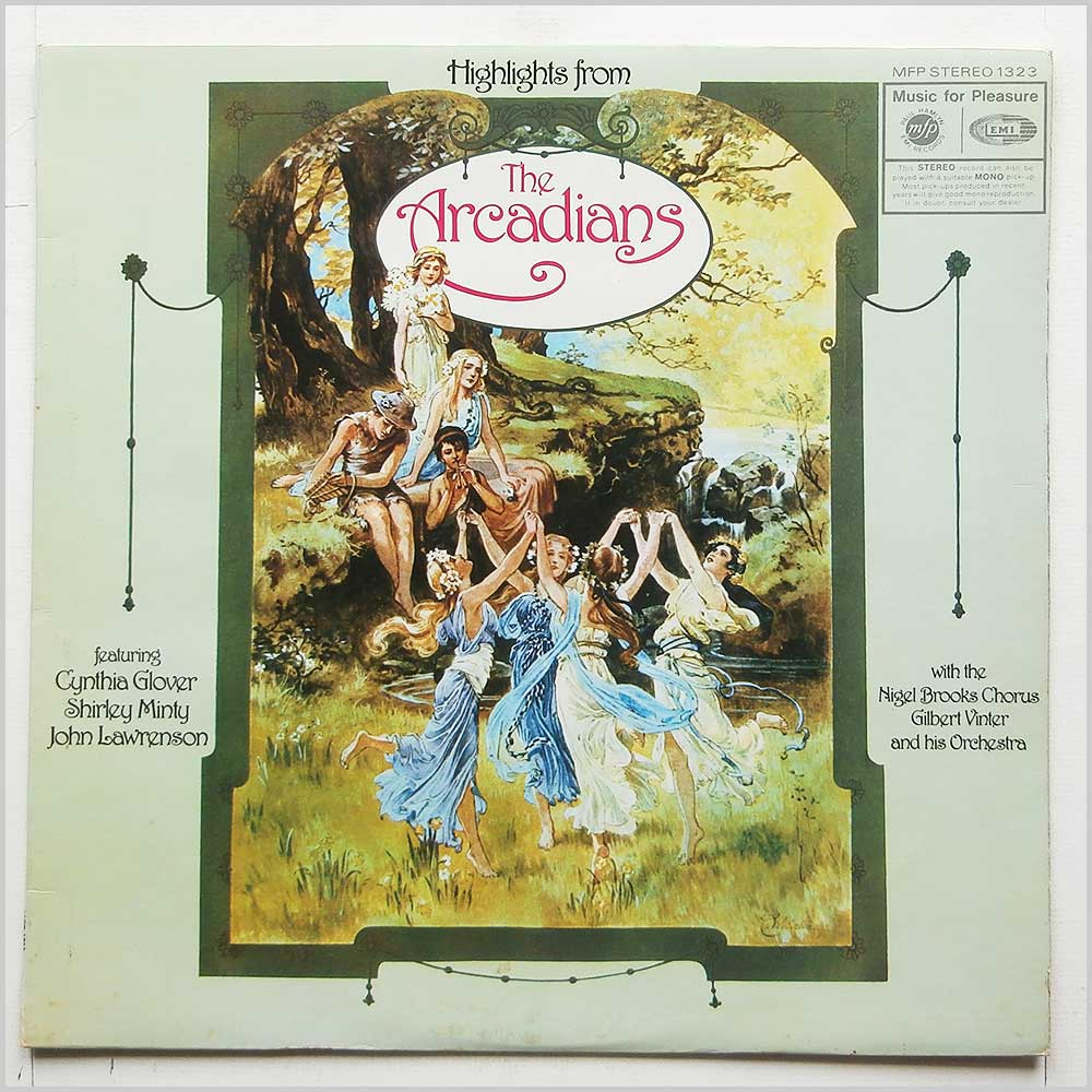 Cynthia Glover, Shirley Minty, John Lawrenson, Nigel Brooks Chorus, Gilbert Vinter and His Orchestra - Highlights From The Arcadians (MFP 1323 )
