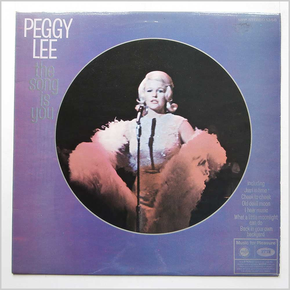 Peggy Lee - This Song Is You (MFP 1358)