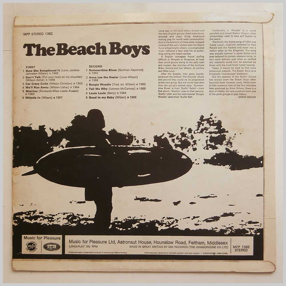The Beach Boys - The Beach Boys (MFP 1382)