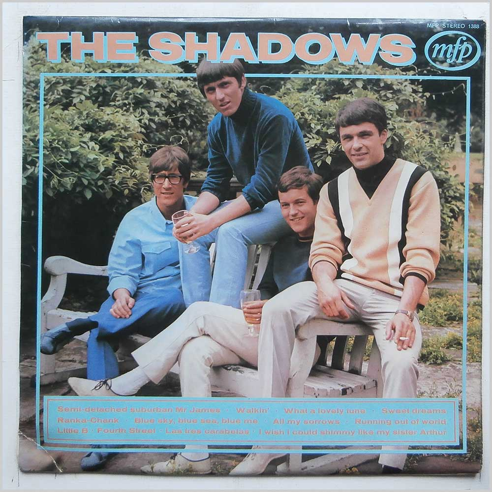 The Shadows - Walkin' With The Shadows (MFP 1388)