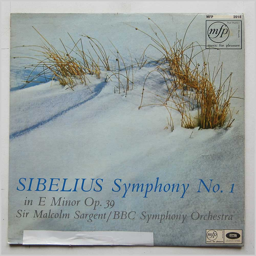Sir Malcolm Sargent, BBC Symphony Orchestra - Sibelius: Symphony No.1 in E Minor Op.39 (MFP 2018)