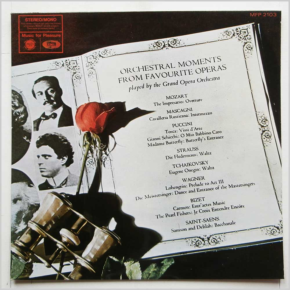 Grand Opera Orchestra - Orchestral Moments From Favourite Operas (MFP 2103)