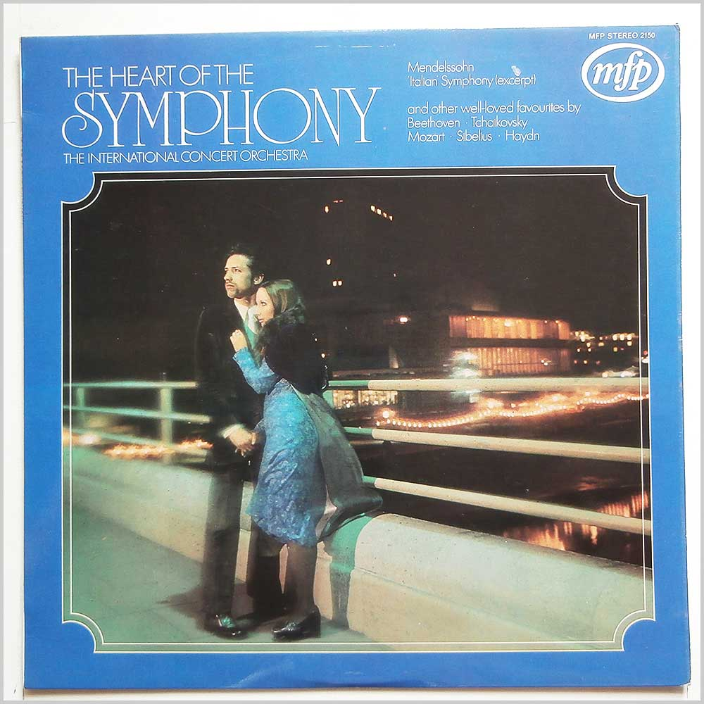 The International Concert Orchestra - The Heart Of The Symphony (MFP 2150)