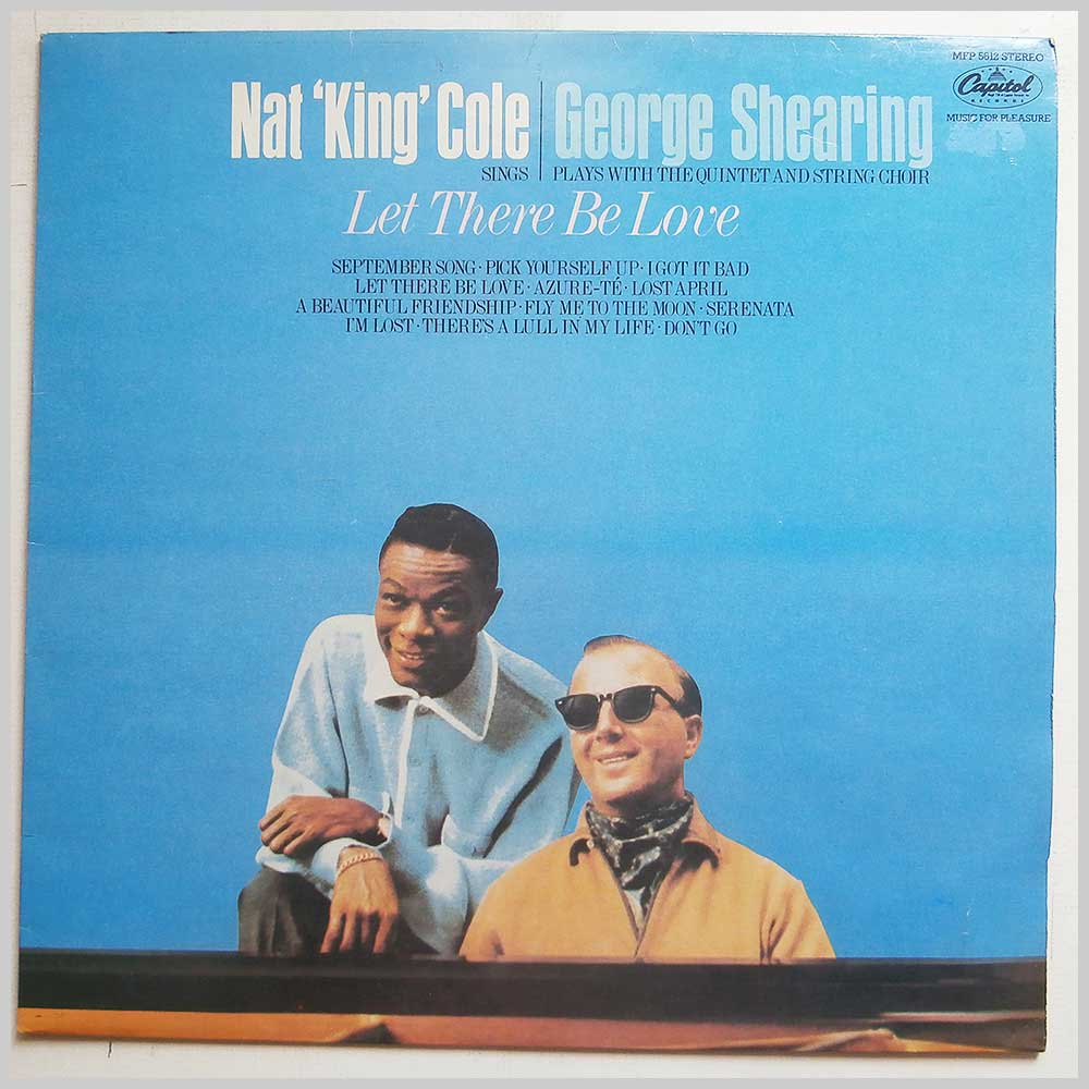 Nat King Cole - Nat King Cole Sings, George Shearing Plays: Let There Be Love (MFP 5612)