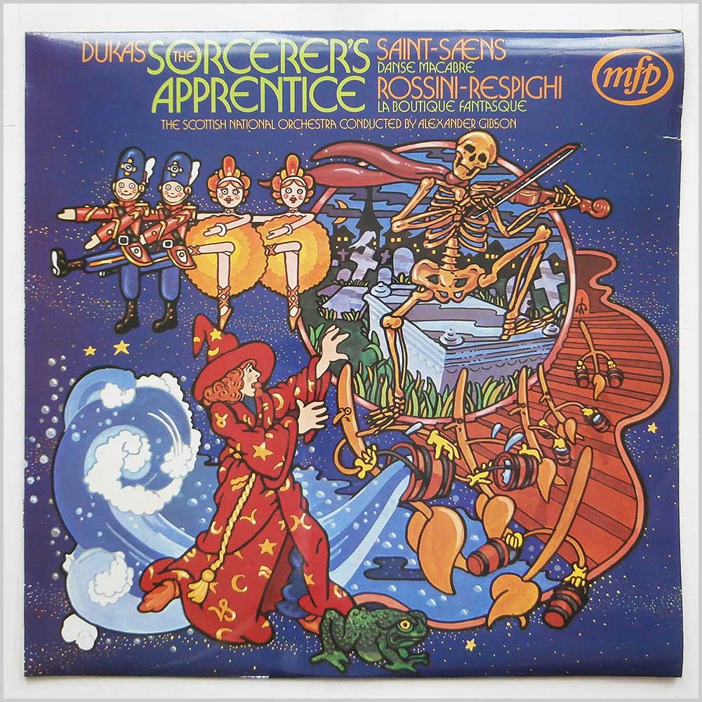 The Scottish National Orchestra - Dukas The Sorcerers Apprentice (MFP 57012)