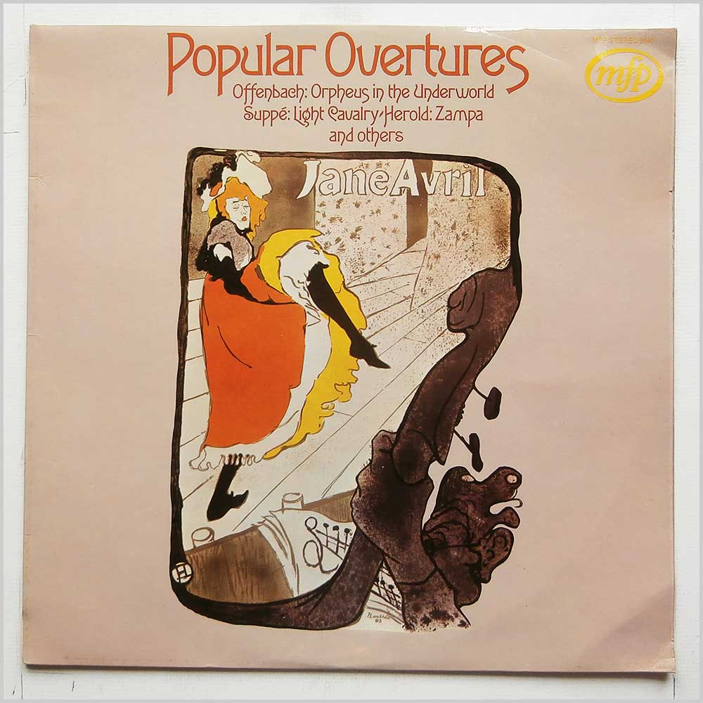 Various - Popular Overtures (MFP 6040)