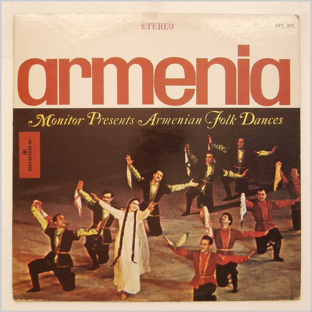 Armenian Song And Dance Ensemble - Armenian Folk Dances (MFS 321)