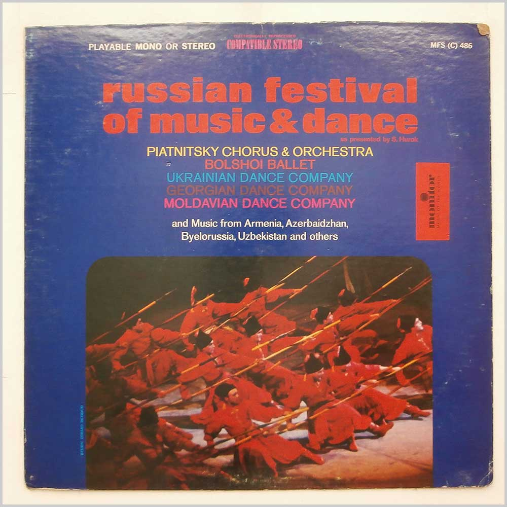 Sol Hurok - Russian Festival Of Music And Dance (MFS (C) 486)