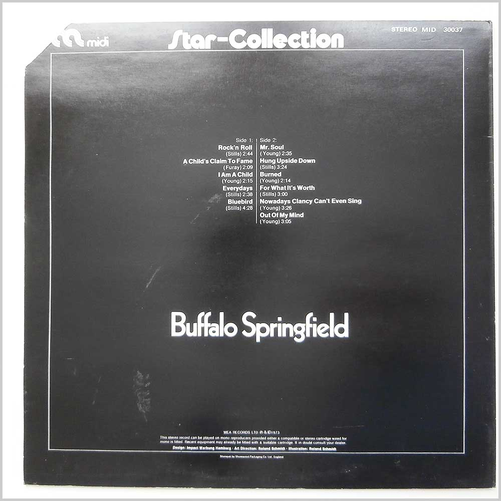Buffalo Spriingfield - Star Collection (MID 30037)