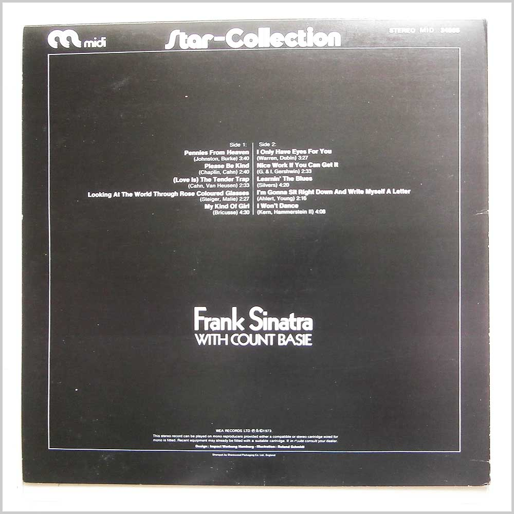 Frank Sinatra, Count Basie - Star-Collection (MID 34005)