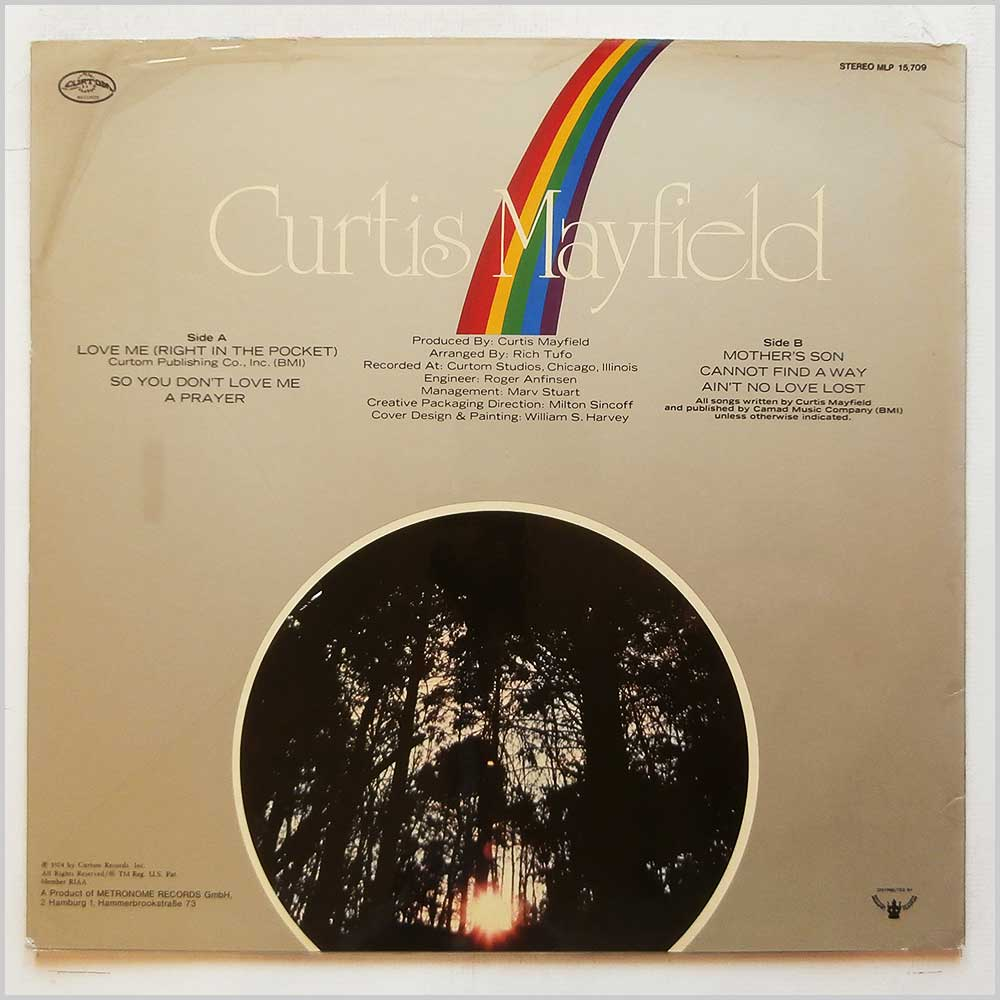 Curtis Mayfield - Got To Find A Way (MLP 15.709)