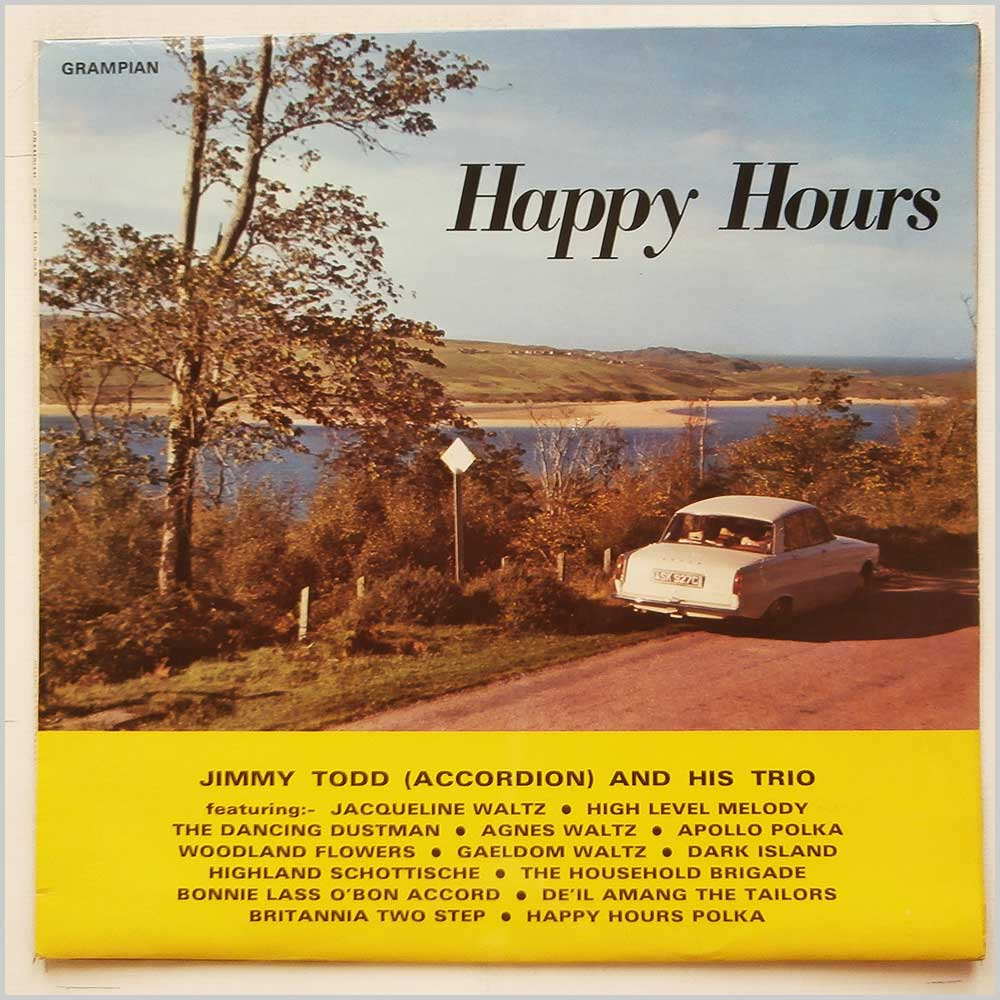 Jimmy Todd and His Trio - Happy Hours (MOR 4012)