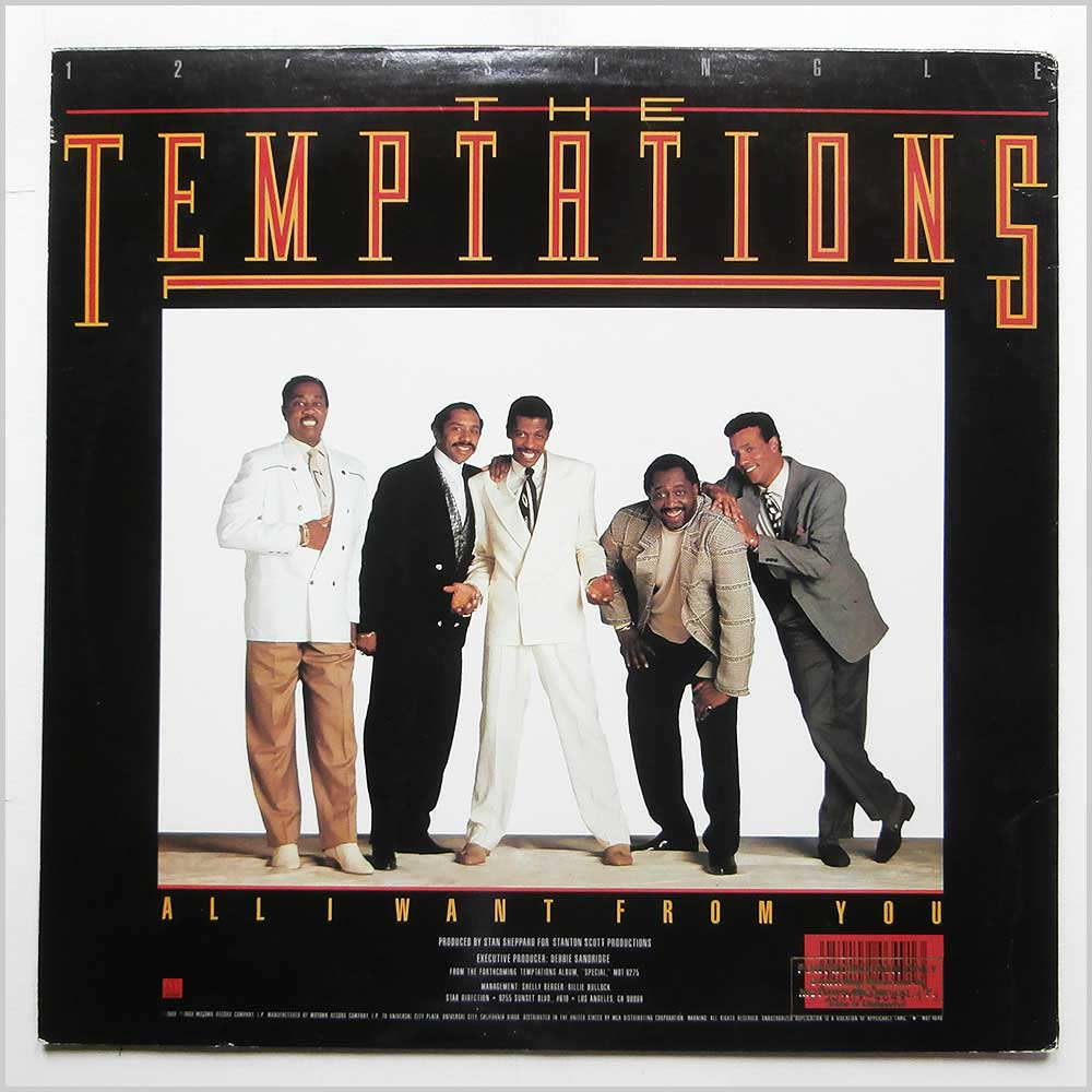 The Temptations - All I Want From You (MOT-4649)