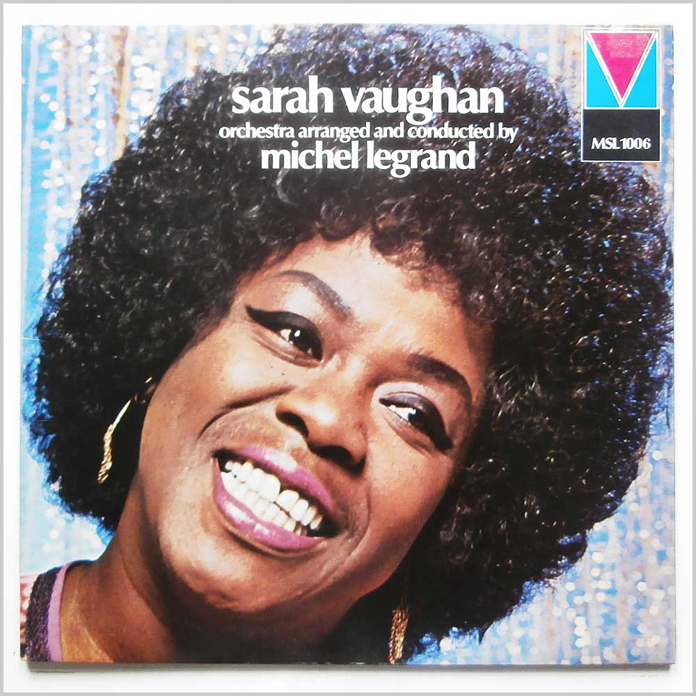 Sarah Vaughn - Sarah Vaughn Orchestra Arranged And Conducted By Michel Legrand (MSL 1006)