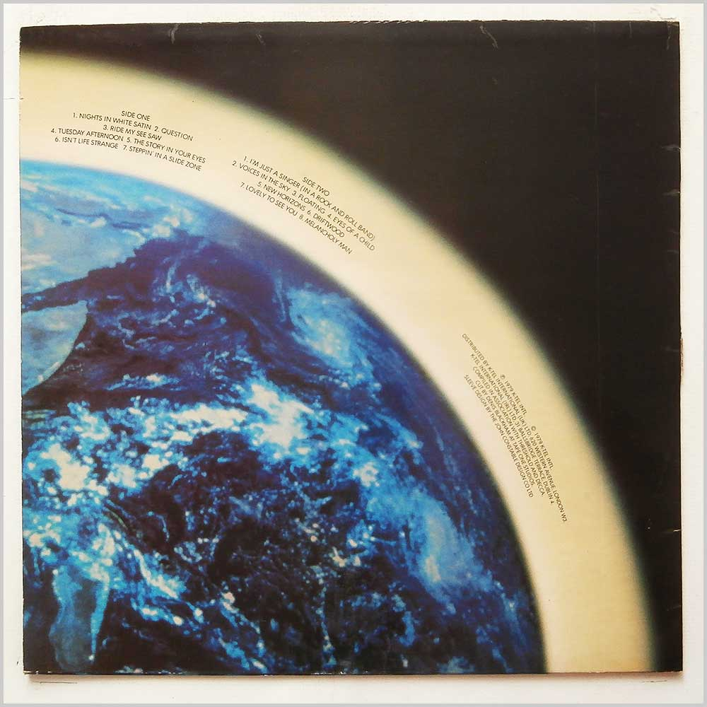 The Moody Blues - Out Of This World (NE 1051)