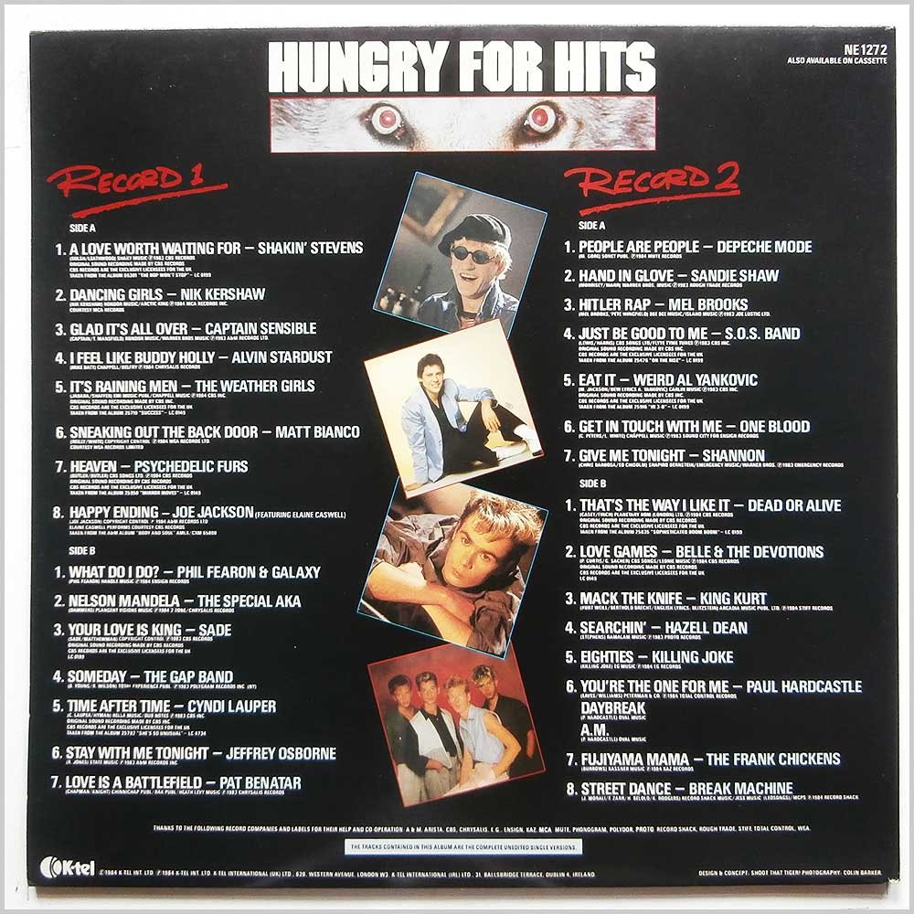 Various - Hungry For Hits (NE 1272)