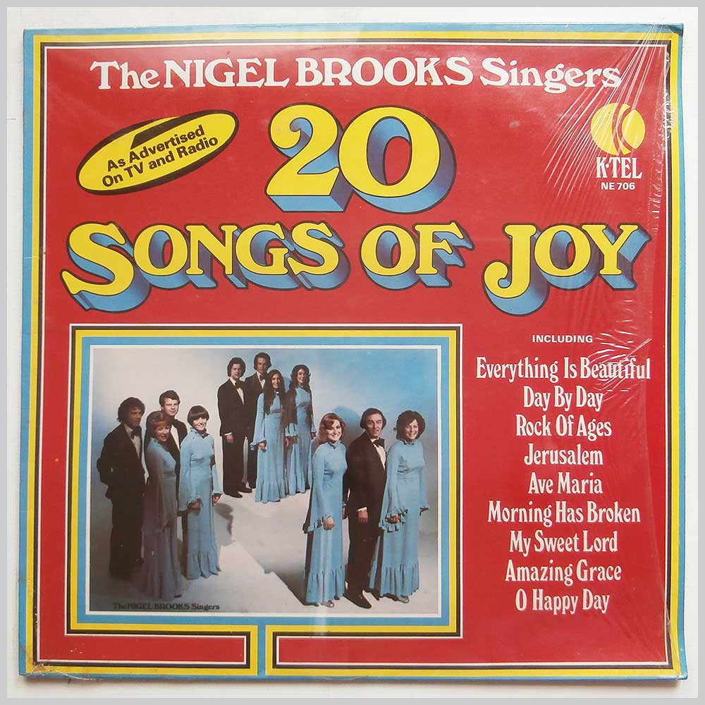 The Nigel Brooks Singers - 20 Songs Of Joy (NE 706)
