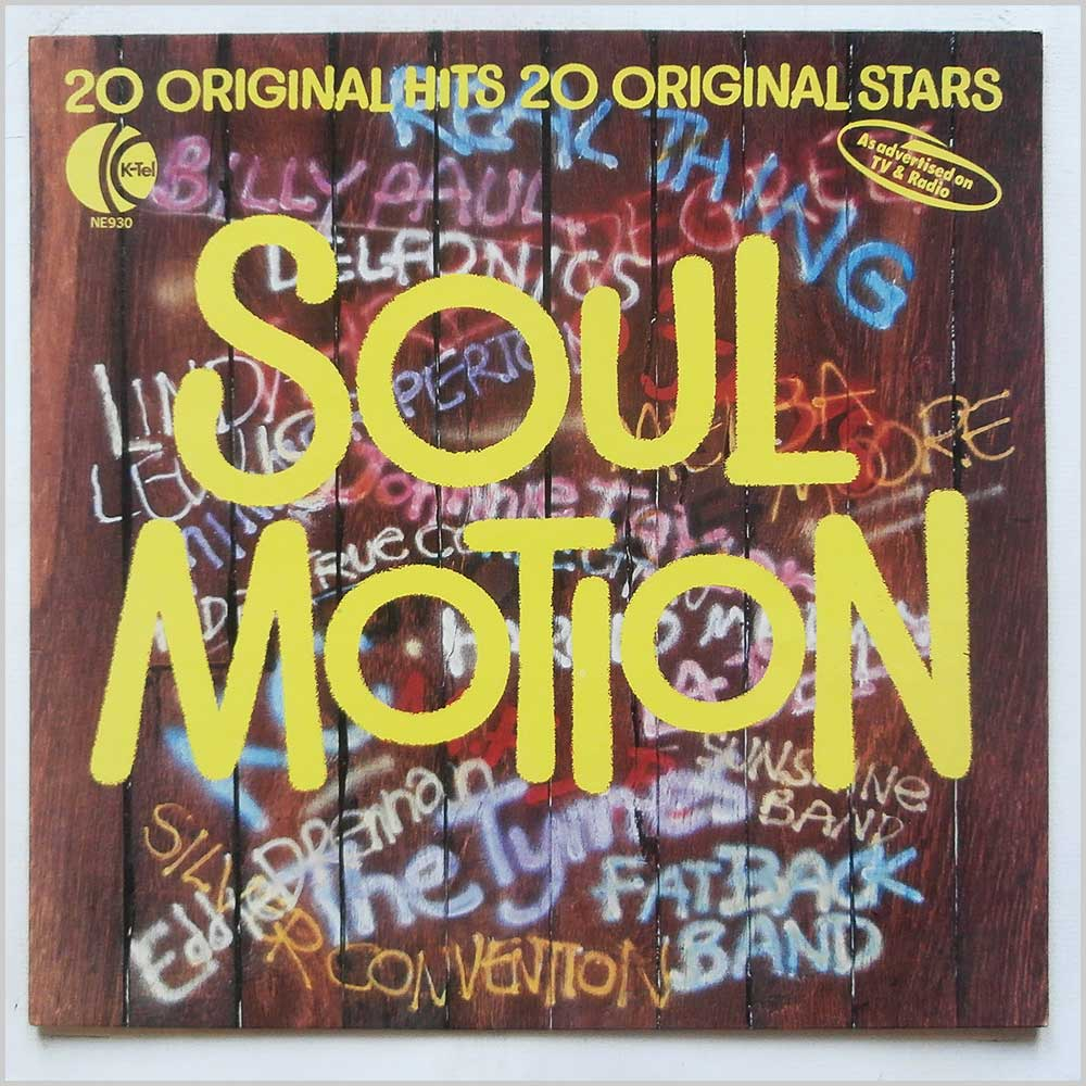 Various - Soul Motion 20 Original Hits 20 Original Stars (NE 930)