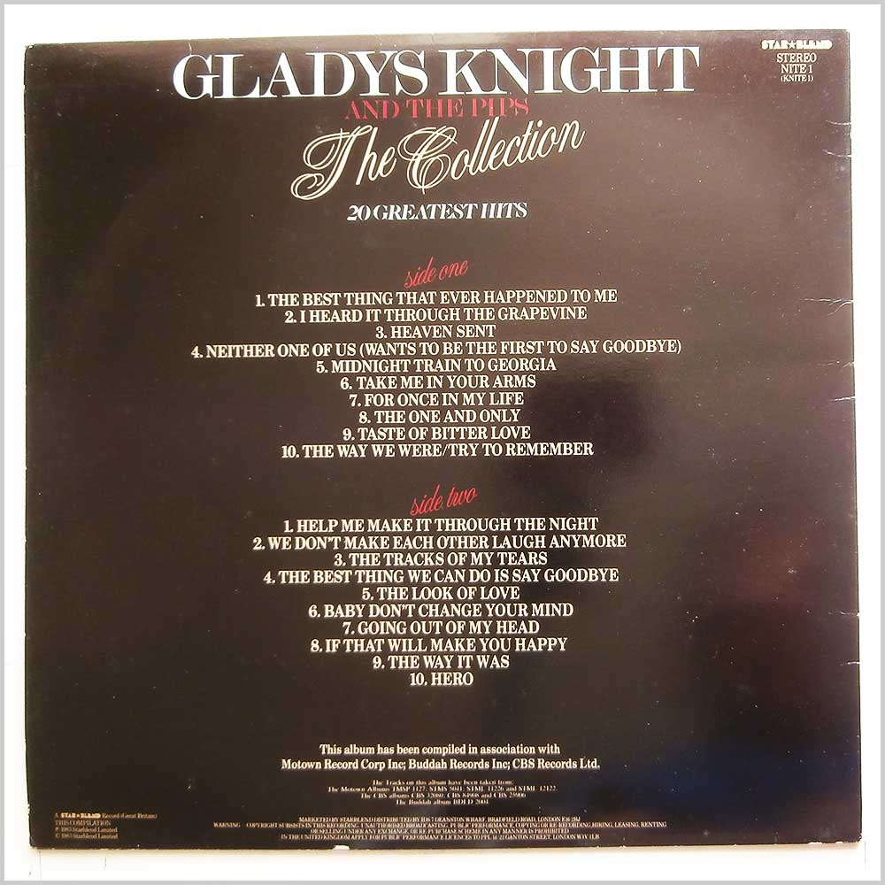 Gladys Night and The Pips - The Collection (NITE 1)