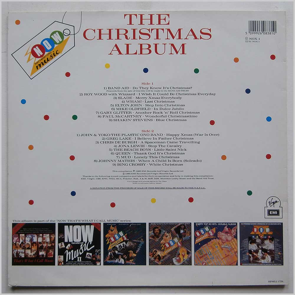 Various - Now That's What I Call Music The Christmas Album (NOX 1)