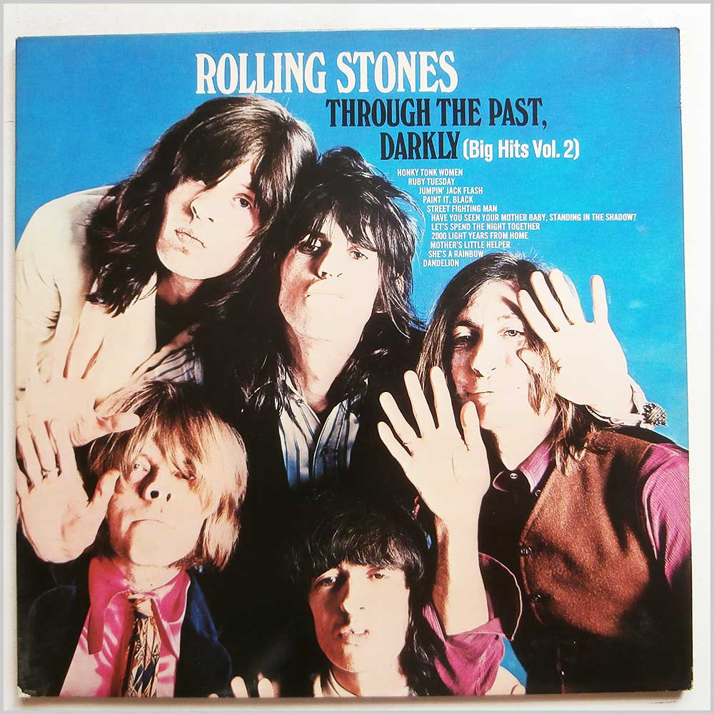 Rolling Stones - Through The Past Darkly (NPS-3)